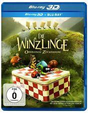 3D Blu-ray *  DIE WINZLINGE - OPERATION ZUCKERDOSE  3 D + 2 D  # NEU OVP &