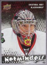 2009-10 Upper Deck Netminders #NET15 Cristobal Huet Chicago Blackhawks
