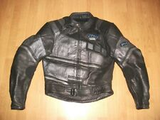 PROTO LEATHER MOTORCYCLE MOTORBIKE JACKET SIZE S. UK 34-36
