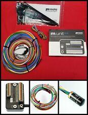 Motogadget 1- Mg4002040 M-Unit Blue, 1- M. Button & 1- M.Unit Cable Wire Kit New