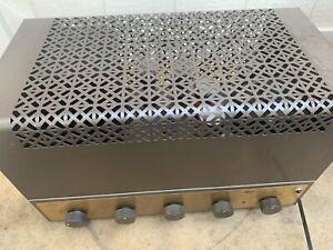 Rare Vintage Eico HF-20 Tube Amplifier - Model 20 Monoblock w/ Cage -WORKING