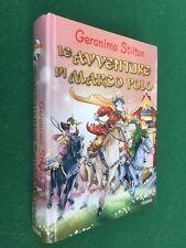 Geronimo STILTON - LE AVVENTURE DI MARCO POLO Piemme (1° Ed 2012) Libro C.Rigida