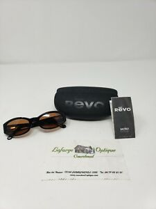 EUC Revo Sunglasses with Black Frame Brown Lenses Sport h2o photo