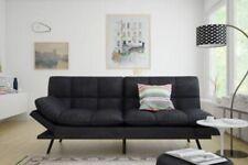 Futon Sofa Bed Memory Foam Couch Sleeper Mattress Foldable Convertible Loveseat