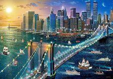 Puzzle Castorland 500 Teile - New York - Brooklyn Bridge (59681)