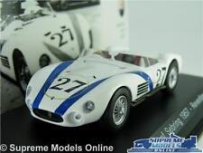 MASERATI 200 SI CAR MODEL 1:43 SIZE IXO 12 HOURS SEBRING REVENTLOW 1957 WHITE T4