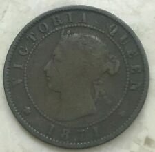1871 Prince Edward Island 1 One Cent - PEI