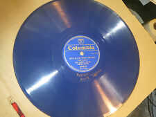 78RPM Columbia (Blue Wax) Red Norvo, Berigan, Night is Blue / Heart Soul nice V+