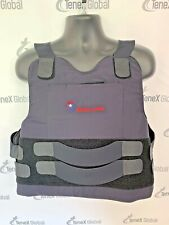 Survival Armor Level 3 Stab Resistant Body Armor Bullet Proof Vest W/ Plate E-6