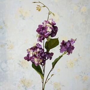 Flower Branch Artificial Hydrangea Home Wedding Floral Arrangement Ornament 1Pc
