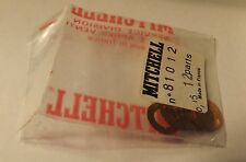 12 NOS Garcia Mitchell 300 400 410 Fishing Reel Baffle Plate To Head Shims 81012