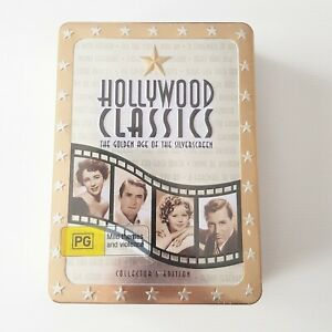 Hollywood Classics The Golden Age Of Silverscreen Collectors Edition – DVD New