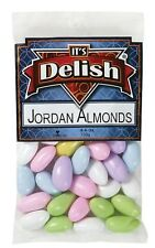 Jordan Almonds- ASSORTED by Its Delish, 1 pound bag