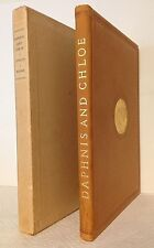 The Pastoral Loves of Daphnis and Chloe Longus Limited Editions Club 1934 Illus.