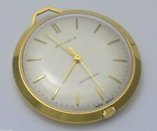KIENZLE Antimagnetic - Taschenuhr ohne Kette / Handaufzug / vergoldet