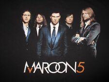 MAROON 5 Tour 2007 Concert with Dates Cities Shirt Mens Medium Womens XL Large
