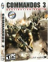Commandos 3 Destination Berlin Eidos Windows Box PC Game (CD, 2003) - SEALED