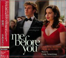 "Craig Armstrong ""ME BEFORE YOU"" score Japan CD SEALED"