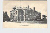 PPC POSTCARD NEW JERSEY PASSAIC HIGH SCHOOL EXTERIOR UNDIVIDED BACK
