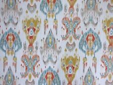 Mill Creek Southwest Ikat DESERT STONE Orange Home Decor Drapery Sewing Fabric