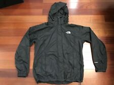 The North Face Womens Adult XLarge XL HYVENT Jacket BLACK Hood Shell triclimate