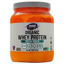 Now Whey Protein - Certified Organic Natural Unflavored 1 lbs
