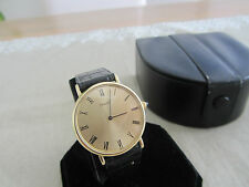 Ultra Rare Piaget ref.9025 Yellow Gold 18k cal.9P2 with Box! Very Nice!