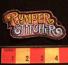 "Hallmark Brand ""Rumper Stitcher"" Patch Emblem ~Patch For Bottom Jean Pocket 66Z9"