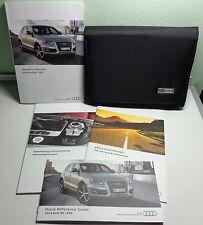 2014 Audi Q5 SQ5 Owners Manual / MMI Navigation Manual Set + Black cover Case