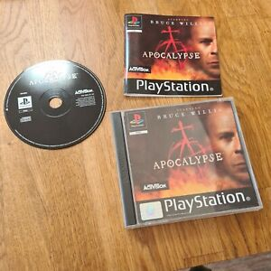 Apocalypse [Bruce Willis] - Sony Playstation 1 / PS1 Game Complete