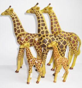 Playmobil® 5 x GIRAFFE Giraffen groß klein  Zoo Tierpark 3253 7364