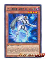 YUGIOH x 3 Meklord Army of Wisel - LC5D-EN163 - Rare - 1st Edition Near Mint