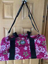 New NWT Hawaii Spirit Duffle Overnight Duffel Pink Bag Luggage Travel 🧳 Floral