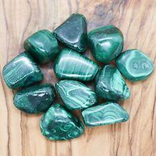 4 x Malachite Tumblestones 25g+ A Grade Wholesale Crystal Therapists Healing