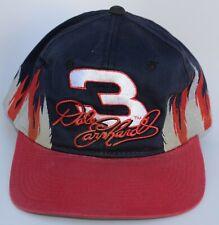 Dale Earnhardt Sr #3 NASCAR Baseball Cap Hat Flames One Size Snapback Vintage