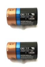 2 DURACELL CR2 3v CR17355 EL1CR2 Photo EX:2026 Lithium Photo Batteries