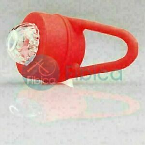 New Lee32di Bike Cycling Round Frog LED Front Head Rear Light Waterproof Red WS