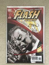DC Flash Rebirth #1 4th Print Signed Ethan Van Sciver W COA