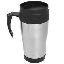 16OZ TRAVEL MUG HOT WARM COFFEE TEA DRINK OUTDOOR THERMAL CUP FLASK INSULATED