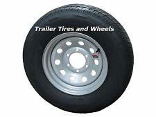 "225/75R15 LRE Rainier ST Radial Trailer Tire on 15"" 6 Lug Silver Mod Wheel"