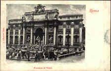 ROME Rom Roma Italien Cartolina Italiana ~1900 Italie Fontana di Trevi Brunnen