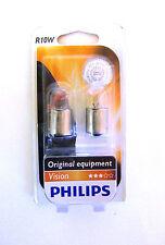 Philips R10W Lampadine Per Auto 12V 10W Visione Bolla set da 2Pc 12814B2