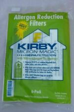 Kirby Sentria 204808 Style F 6 Vacuum Cleaner Cloth Dust Bags - White