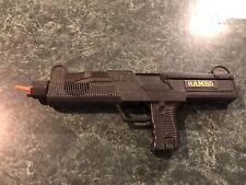 Vintage 1980's Rambo UZI Machine Gun Toy - For Parts -  **EXTREMELY RARE**