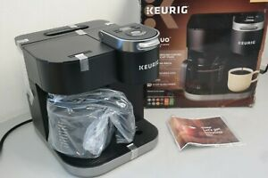 Keurig K-Duo 12-Cup Coffee Maker and Single Serve K-Cup Brewer Black (25D-OB)