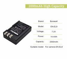 US For Nikon Replacement battery EN-EL9 ENEL9 D3X D40 D40x D60 D5000 D3000 EL9a