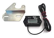 Tiny Tach TT2B Digital Hour Meter Tachometer w/ Bracket for  Briggs Kohler Honda