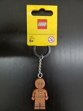 Lego 851394 Holiday Christmas Iconic GINGERBREAD Minifig Keychain 2015 NEW Rare