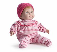 """Jc Toys Berenguer Nonis 15"""" Blonde Soft Body Play Doll Pink Striped Outfit"""