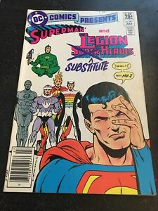 "DC Comics Presents#59 Incredible Condition 9.0(1983)""Substitute"